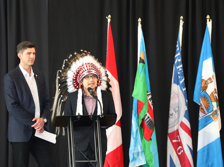 Speaking MOU Enoch Edmonton